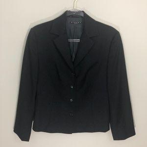 Sisley Black Blazer Wool Jacket M Size 8 44